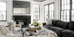 Designer Tamara Magel creates a glamorous and relaxed space for a youngfamily.