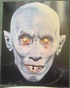 Salem's Lot - Publicity still of Reggie Nalder Sci Fi Horror, Horror Films, Horror Art, Spooky Tooth, Famous Vampires, Male Makeup, Makeup Man, The Artist Movie, Salem Lot