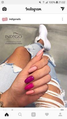 Indigo Nails New Colours Yummy mummy, Mama No Drama, Don't get crazy, Porcelain Doll Cute Acrylic Nails, Cute Nails, Pretty Nails, Hair And Nails, My Nails, Nail Lab, Indigo Nails, Dream Nails, Nagel Gel