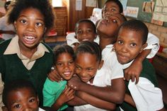 The kids at Nomzamo Daycare