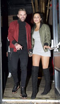 Couple alert: Aaron and Marnie walk hand-in-hand...
