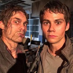 #Dylan O'Brien##The Scorch Trials#