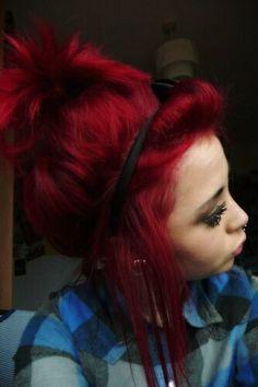 Cheveux Rouge