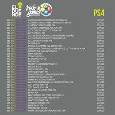 #GamersZone #TradeIn #Games #Videogames #Videojuegos #Gamers #Geek #ElDuende #Guatemala #PlayStation #PlayStation4 #PS4