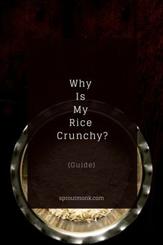 Did your rice turn crunchy? Well, check out this guide to fix and avoid the crunchy rice problem altogether. FAQs included! Food Tips, Diy Food, Food Hacks, Fried Rice Dishes, Tasty Dishes, New Recipes, Favorite Recipes, Stir Fry Rice, Rice Grain