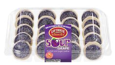 Sour Grape Frosted Mini Sugar Cookies | Lofthouse Cookies