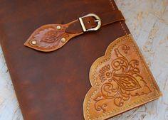 Diario de cuero genuino, totalmente hecho a mano, diario con personalización…