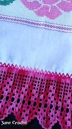 Filet Crochet, Crochet Diy, Crochet Borders, Crochet Designs, Crochet Patterns, Magic Hair, Ruffle Scarf, Crochet Videos, Projects To Try