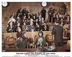 Eacape From The Planet Of The Apes...(LARGE IMAGE)