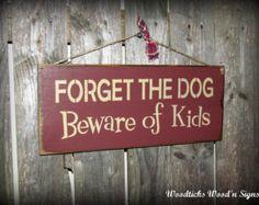 kids wooden sign ideas