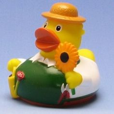 Rubber duck gardener