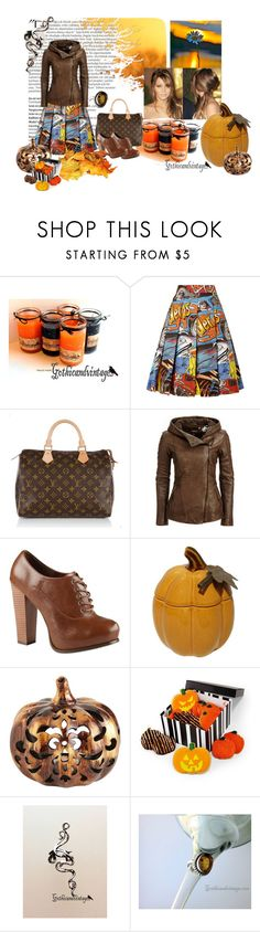 """""""Ear Cuff"""" by gothicandvintage ❤ liked on Polyvore featuring Balmain, J.W. Anderson, Louis Vuitton, Danier, Call it SPRING, Pier 1 Imports and Amy's Cookies"""