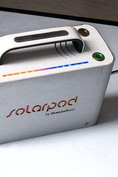 This briefcase-sized solar generator will see you through extinction events and trips to rural Scotland. An LED strip tells you how much power you have left and with the option to add additional solar panels you can soup up the sun charged energy to last even longer.
