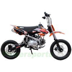 SSR SR125 125cc Pit Bike with Manual Transmission, Kick Start! Super Hot!