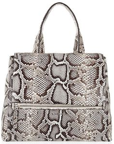 Animal Medium Python Pandora Pure Bag