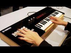 Yamaha exibe teclado musical que emula vozes humanas