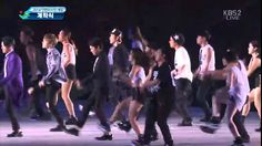20140919 인천아시안게임 개막식 공연3 JYJ - Empty