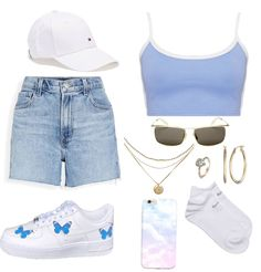 Boujee Outfits, Cute Lazy Outfits, Teenage Outfits, Teen Fashion Outfits, Dope Outfits, Retro Outfits, Stylish Outfits, Aesthetic Fashion, Aesthetic Clothes
