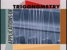 This program is guaranteed to spark interest in trigonometry by illustrating the exciting, dynamic ways in which it is applied. Dramatic footage looks at problem situations that arise in areas such as navigation, architecture, astronomy, automotive engineering, ballistics, and more. As the problems are discussed, clear and vivid graphics are used to help students fully understand the properties of trigonometric functions that come into play.
