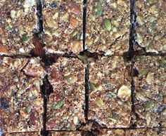Recipe Muesli/Breakfast bars (Grain, Dairy and Refined Sugar Free) by melrob06 - Recipe of category Baking - sweet