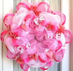 Valentine Wreath -  this could be our project today!