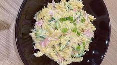 FOTORECEPT: Cestoviny s cuketou a šunkou Cabbage, Grains, Rice, Vegetables, Food, Essen, Cabbages, Vegetable Recipes, Meals