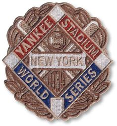 1939 New York Yankees World Series MLB Baseball Patch Cooperstown Collection