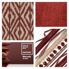 Kravet Colors - Pantone Color of the Year: Marsala