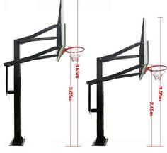 Basketball tips and ideas Portable Basketball Hoop, Basketball Room, Outdoor Basketball Court, Basketball Backboard, Street Basketball, Basketball Systems, Basketball Skills, Basketball Funny, Basketball Players
