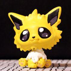 Jolteon Pokemon Littlest Pet Shop custom