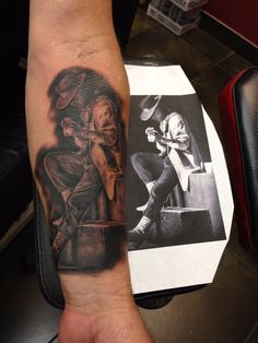 Stevie Ray Vaughan Tattoo