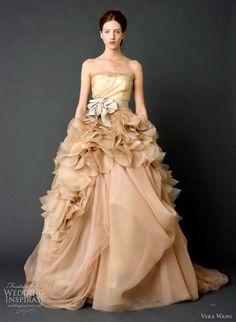 vestidos de novia colo marron - Google Search