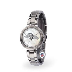 Denver Broncos Women's Charm Stainless Steel Watch - $89.99