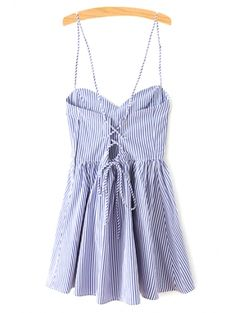SHARE & Get it FREE | Fitting Striped Spaghetti Straps Sleeveless DressFor Fashion Lovers only:80,000+ Items • New Arrivals Daily Join Zaful: Get YOUR $50 NOW!