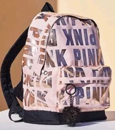 NWT Victoria's Secret Pink mini Backpack logo 2018 limited edition baby pink – Dress Models Mochila Victoria Secret, Victoria Secret Backpack, Cute Mini Backpacks, Stylish Backpacks, Pink Backpacks, Vs Pink Backpack, Baby Backpack, Baby Pink Dresses, Mini Mochila