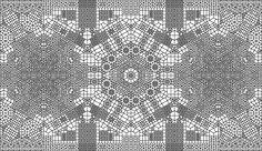 Algoritmos generativos se convierten en alfombras orientales CGI | The Creators Project