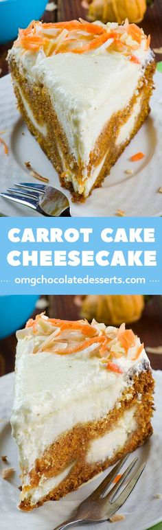 Searching for an Easter dessert idea? This yummy Carrot Cake Cheesecake is like carrot cake with a lot of cream cheesy flavor.