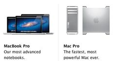 Sneak Peak at new #Apple #Macbook Pros and #Mac Pros - or not?  RT @MacRumors  Details on New Mac Pro and MacBook Pro Specs Surface, Retina Notebook Still Under Wraps