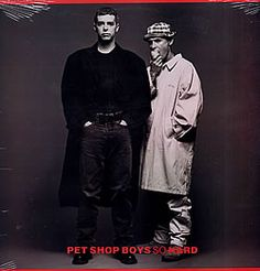 """For Sale -Pet Shop Boys So Hard - Sealed USA  12"""" vinyl single (12 inch record / Maxi-single)- See this and 250,000 other rare and vintage records & CDs at http://eil.com/"""