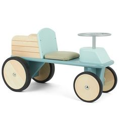 Taking inspiration from traditional and modern design, the blue wooden truck from Moulin Roty will provide hours of fun. Created in Erdre, France from fine wood, this choice comes with wooden wheels and a working steering wheel, not to mention the truck l Inspiration For Kids, Nursery Inspiration, Wooden Truck, Wooden Wheel, Fashion Design For Kids, Baby Necessities, Wooden Projects, Kids Corner, Le Moulin