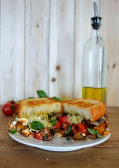Ratatouille Grilled Cheese | The Woks of Life