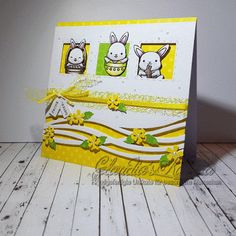 Claudia's Karteria: DT Stempelgarten | Challenge #79 Ostern | Easter Memories Box, I Card, Special Occasion, Challenges, Decor, Happy Easter, Boxes, Handmade, Creative