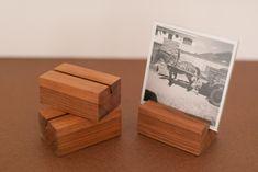 Porta retrato madeira: CASTANHA rajada