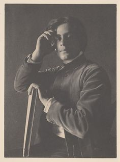 Kahlil Gibran with Book Artist: F. Holland Day (American, Norwood, Massachusetts 1864–1933 Norwood, Massachusetts) Date: 1896