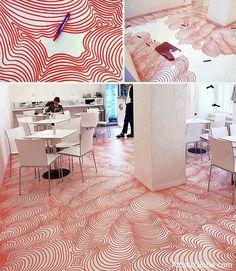 Floor Art for Office