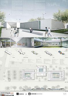 Veja a seguir os projetos premiados e menções do Concurso Público Nacional de Arquitetura para a Unidade Básica de Saúde (UBS) a ser construída no Riacho Fundo II , Distrito Federal.