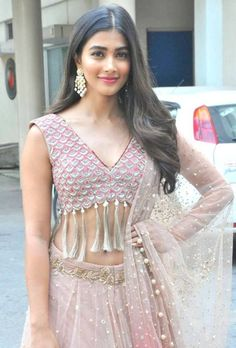 Pooja Hegde Stills At Sakshyam Movie Motion Poster Launch