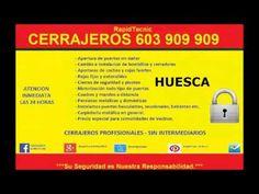 Cerrajeros Huesca 603909909