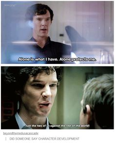 Character development... Yet another example of what we love about this show!