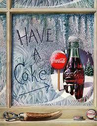 1952 - Coca-Cola advertising
